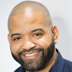 Head shot of Erik Roberto, co-founder of Gerow Hair Ink